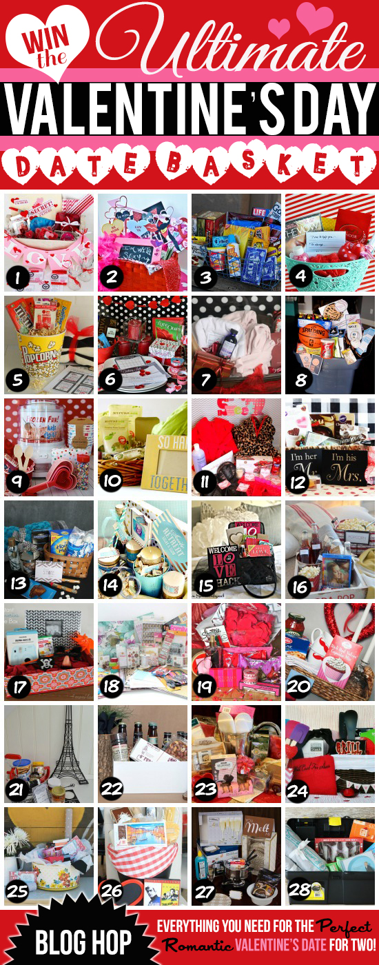 WIN the ULTIMATE Valentine's Day Basket + Blog Hop
