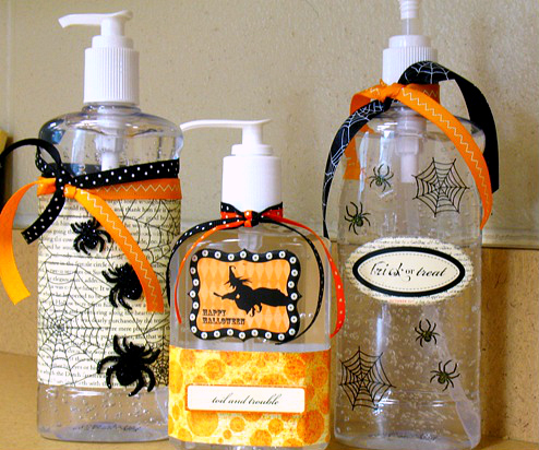 Halloween sanitizer gift
