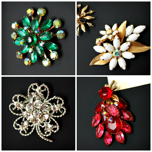 make magnets with brooches