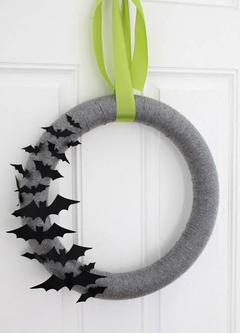 Bat Wreath
