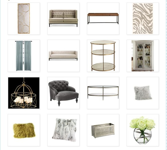 Good Mood Board: Living Room
