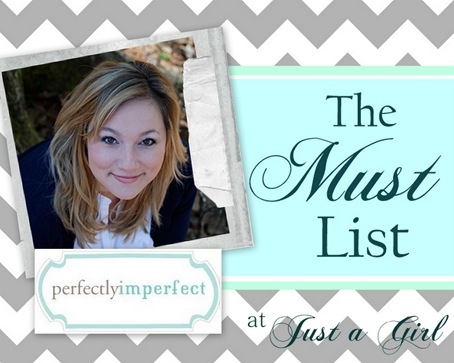 The Must List: Perfectly Imperfect