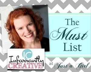 The Must List: Infarrantly Creative