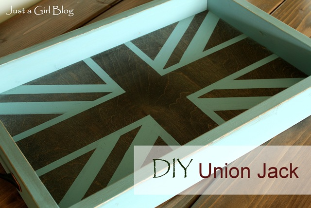 Union Jack Tray {3M DIY Starts Here}