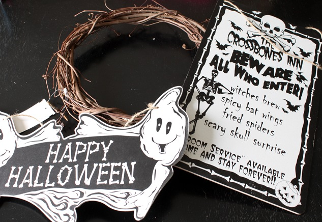 Dollar Store Decor {Halloween Decorating}