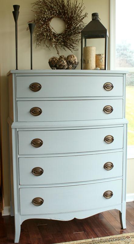 milk paint dresser