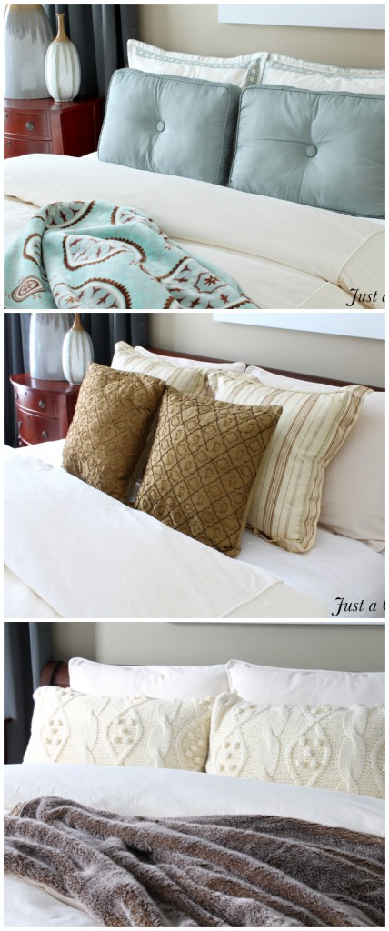 One duvet, three different looks