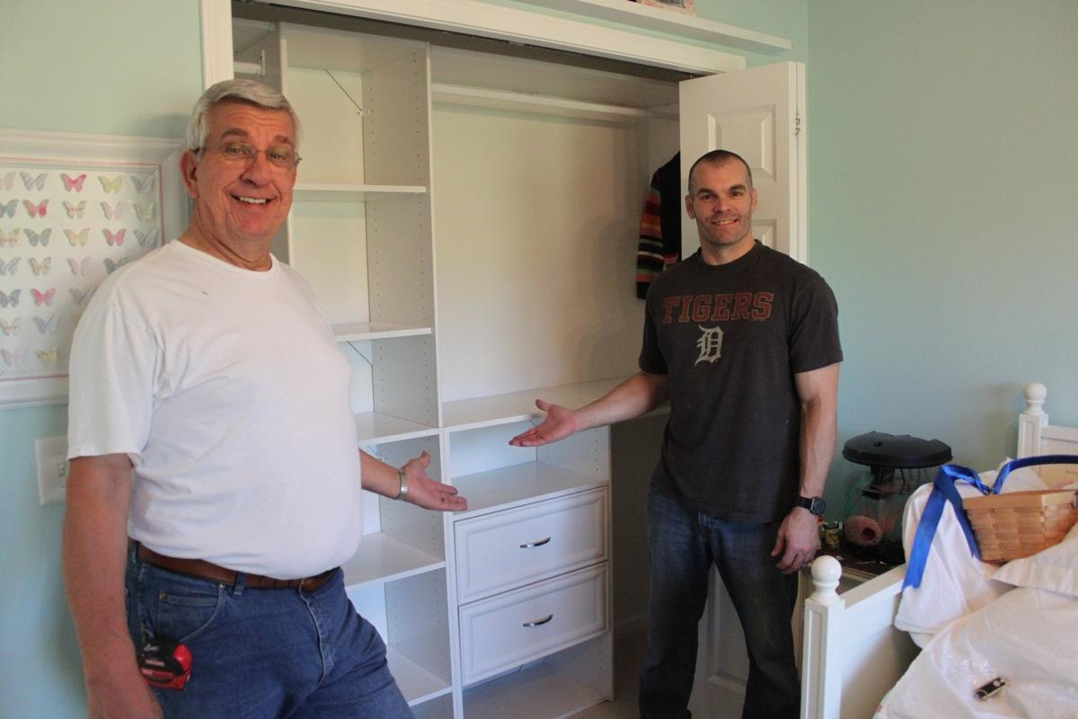 closet finished