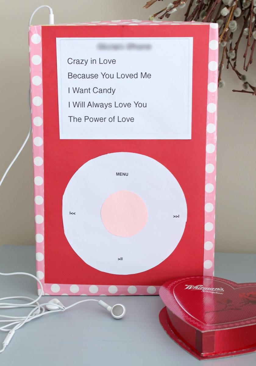 Valentines iPod Box
