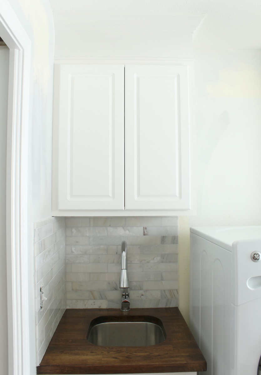 Extending Cabinets To Ceiling Just A Girl Blog