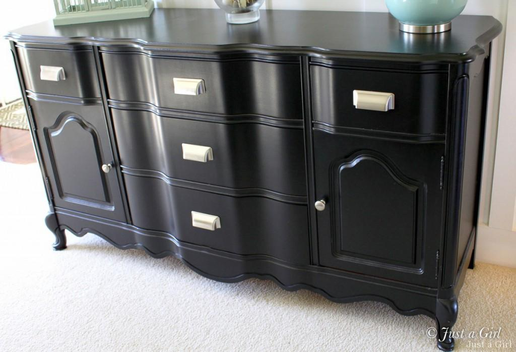 How to paint furniture update just a girl blog for How to paint my bedroom furniture