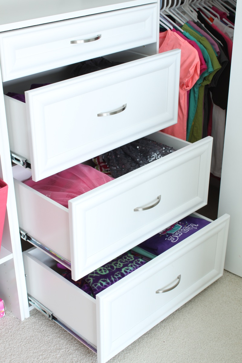 shelving drawer decorating closets ideas closet gardens better homes