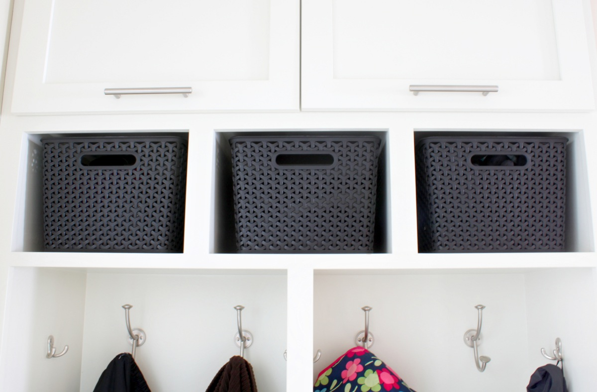 Exceptional Mudroom Storage Bins