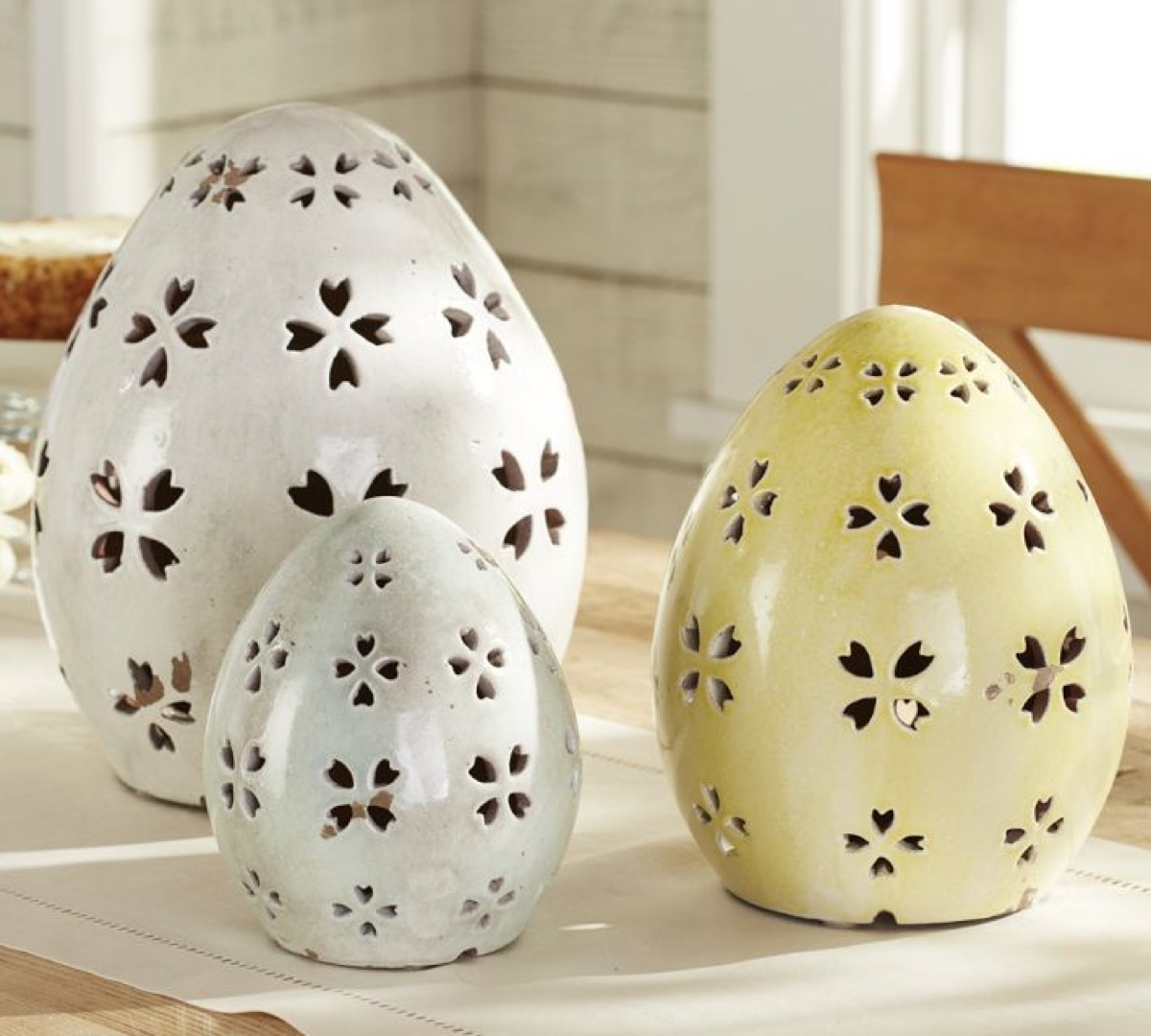 Pottery barn easter eggs