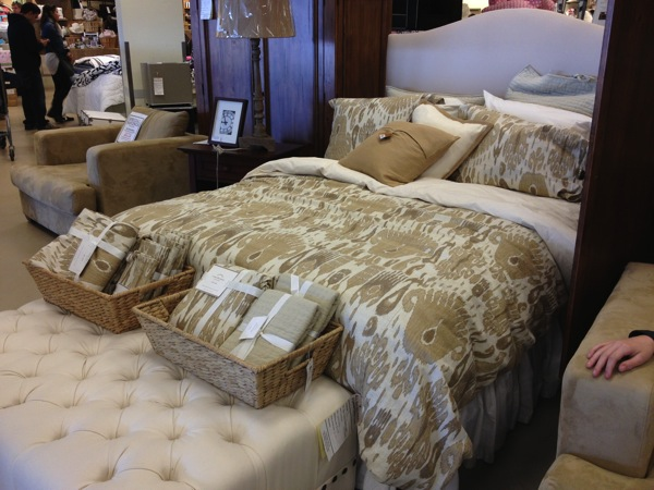 Stunning pottery barn bed