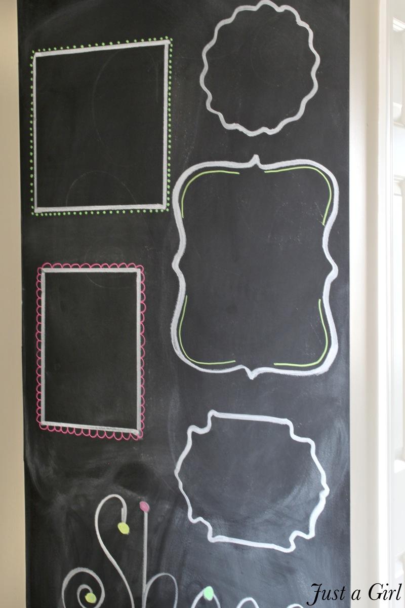 chalkboard frames - Diy Framed Chalkboard