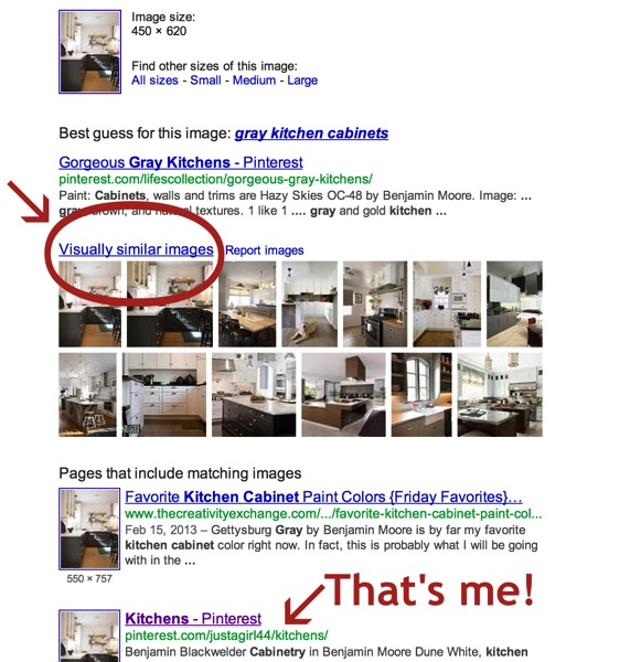 How to search for an image on Google
