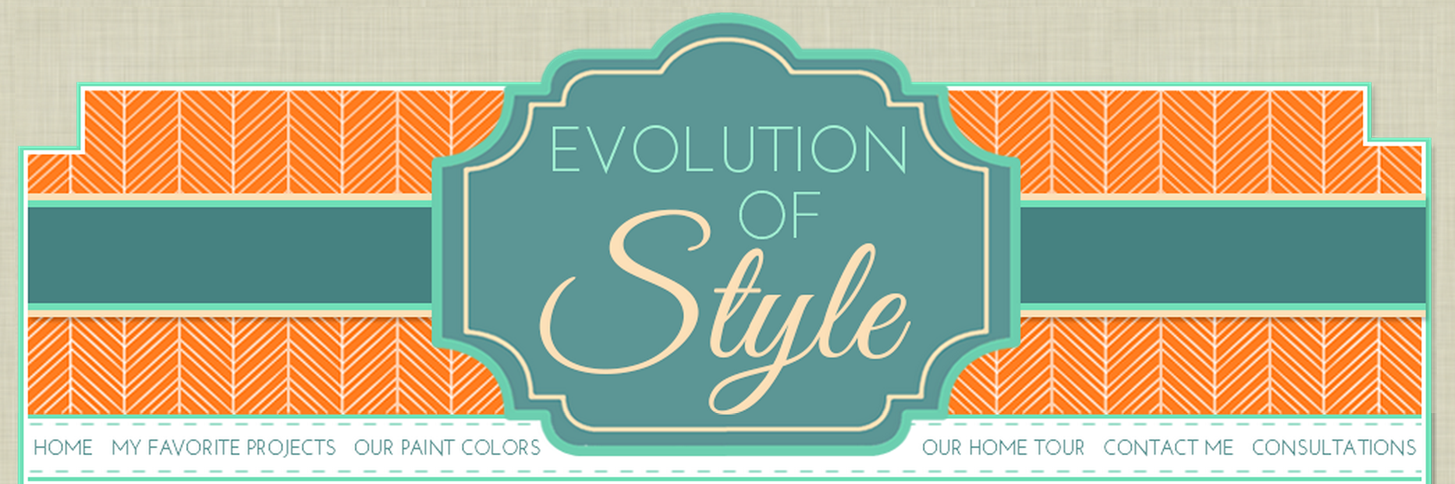 Evolution of Style Guest Post!