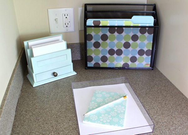 How to organize counter tops