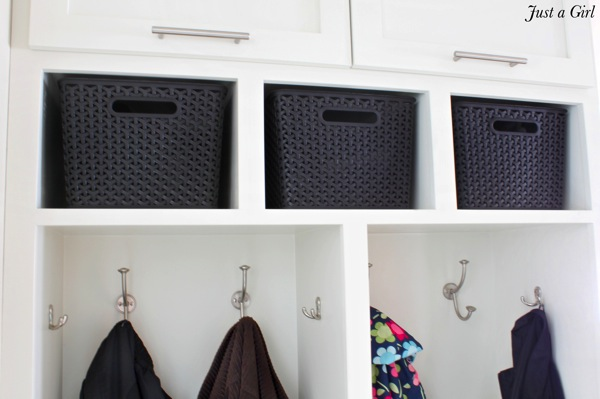 Mudroom bins
