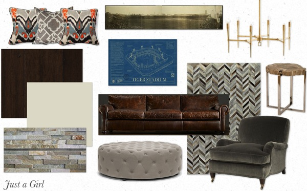 Basement mood board png