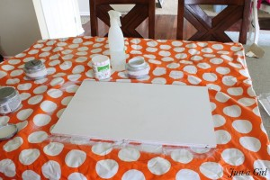 DIY Art Project {Lowes}