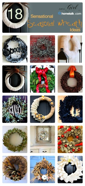 Just a Girl Wreaths