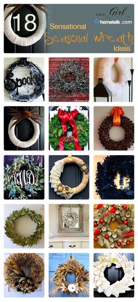Just a Girl Wreaths