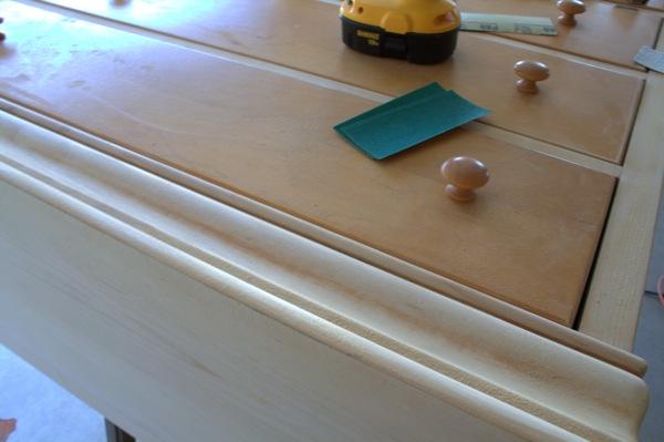 Sanded dresser CR2