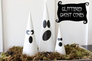 Halloween Ghost Cones