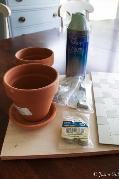 Coffee tray supplies