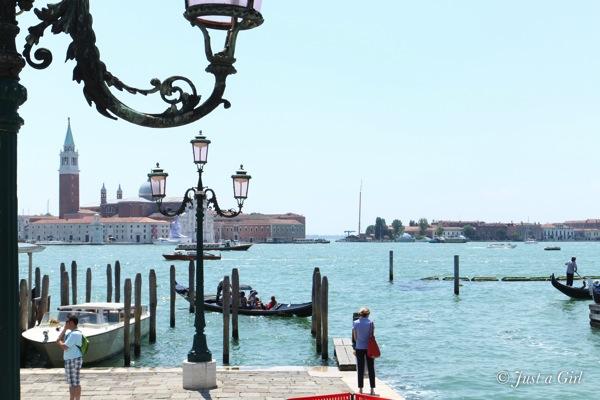Venetian water view