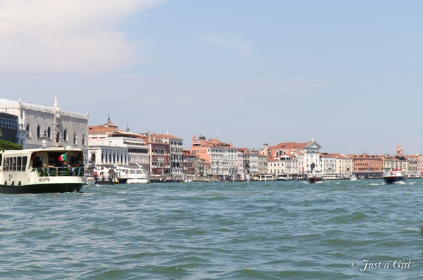 Venice buildings view