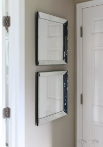 DIY Pottery Barn Mirrors