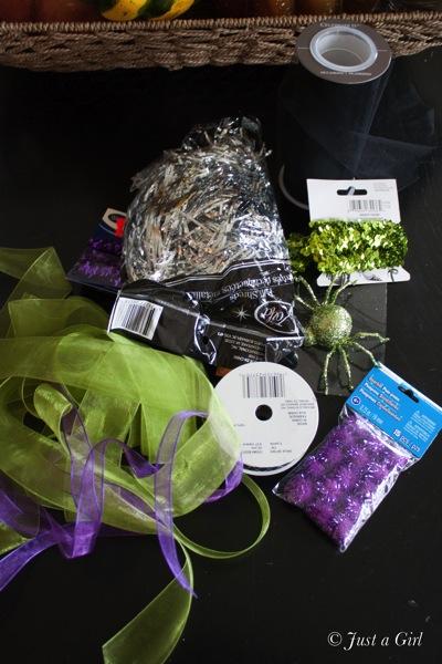 Witch hat supplies