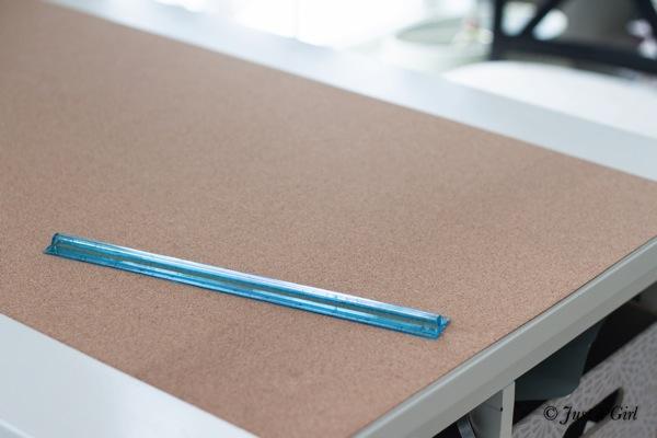 Corkboard roll
