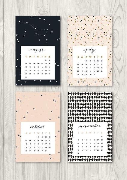 Free printable calendar 2014