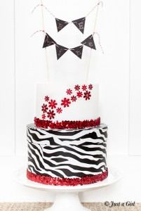 Valentine's Paper Cake