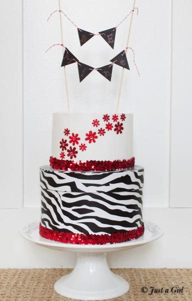 Valentine s paper cake