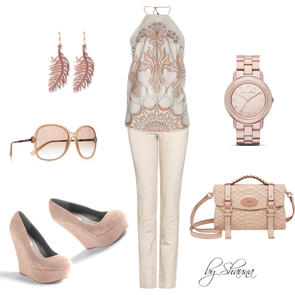 Blush summer outfit