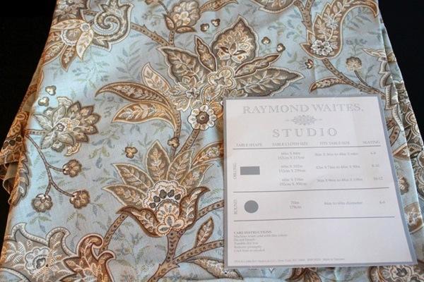 Tablecloth curtains