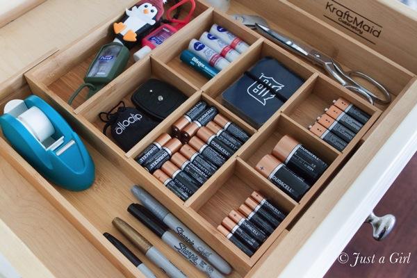 Battery organization 6