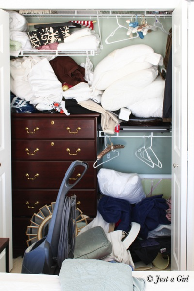 How to add closet shelves 2