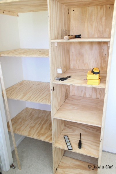 Nice How To Add Closet Shelves 4
