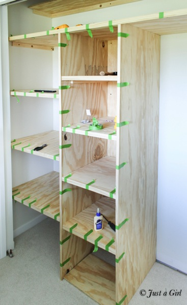 How to add closet shelves 5