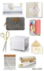 Pretty Desk Accessories