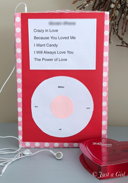 Valentine s ipod box