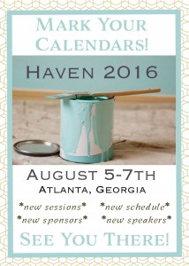 Haven 2016 Announcement!