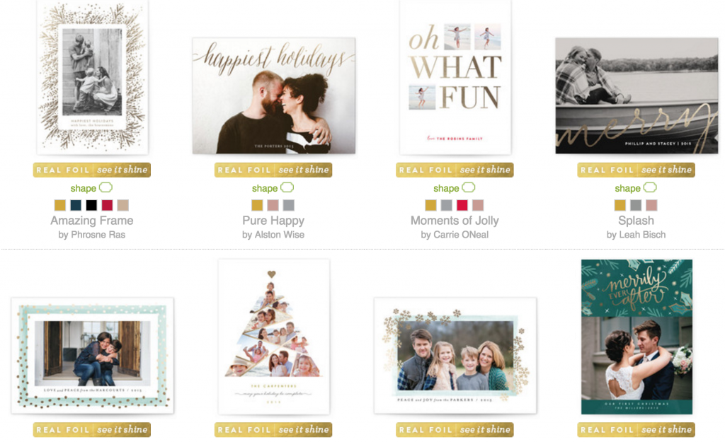 Minted cards