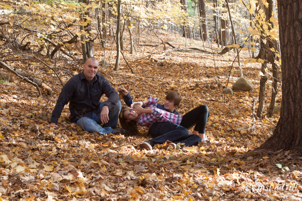 family fall photo